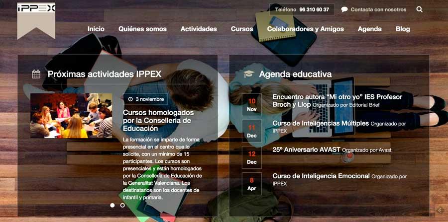 Ippex.org desarrollo web