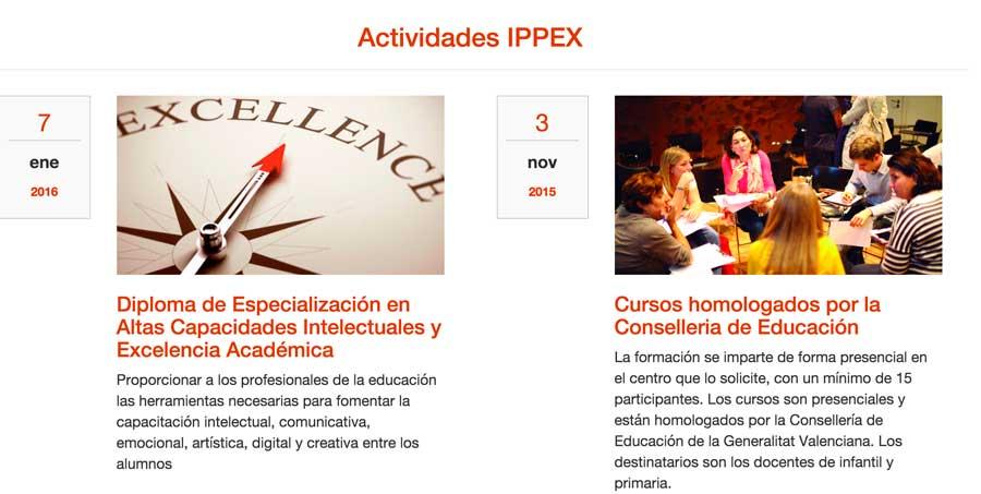IPPEX Web Rediseño
