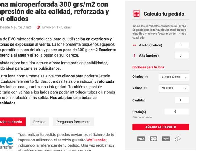 Ficha de producto Webpoint