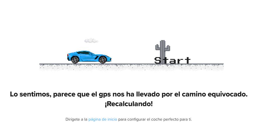 Carwow.es Animación 404