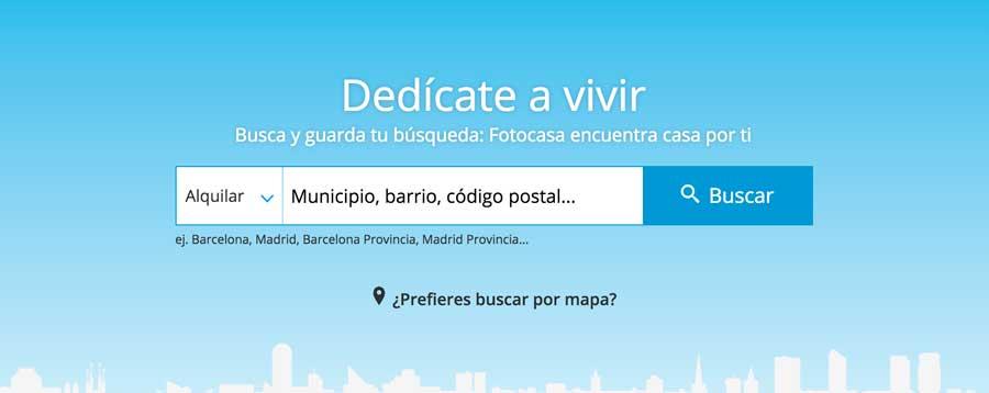 Ejemplo de sitio web portal inmobiliaria