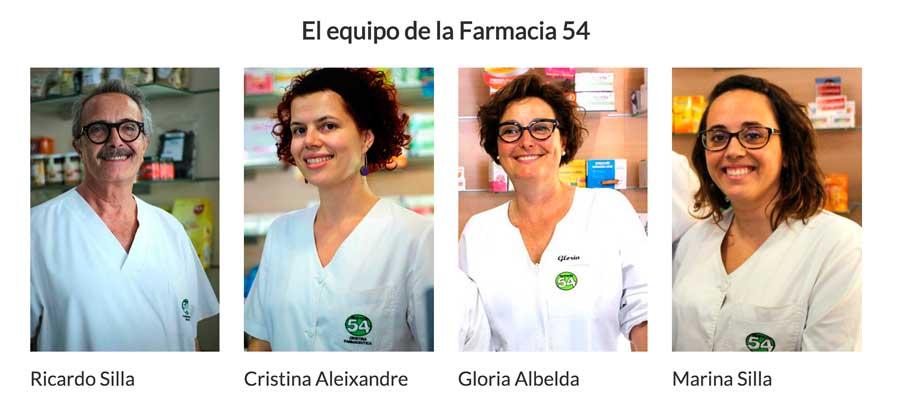 Equipo farmacia 54 en benetusser