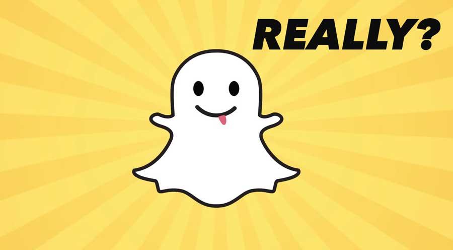 Snapchat ¿de verdad?