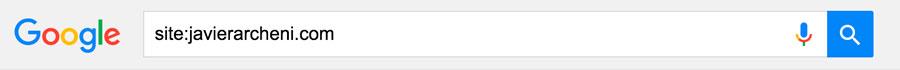 Operador búsqueda en Google site: