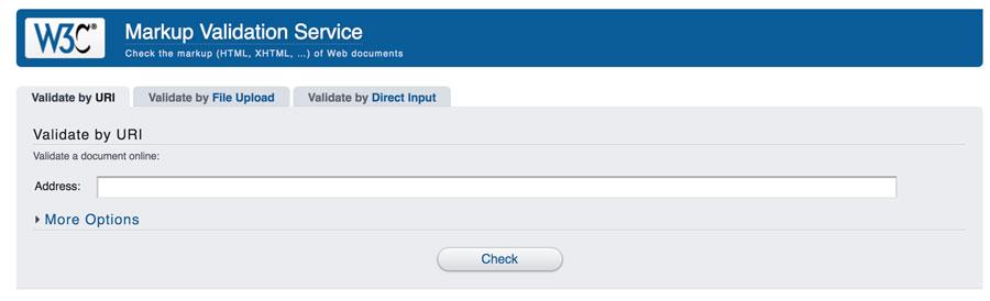 W3C validación marcado