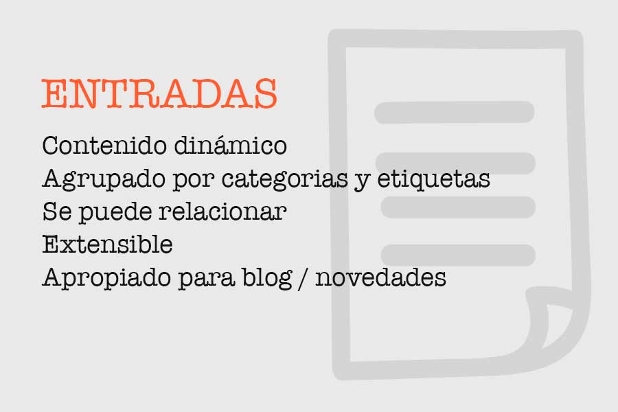 Descripción entradas en WordPress