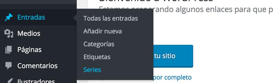 Categoria personalizada en WordPress