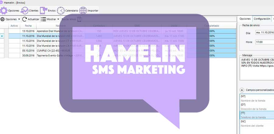 Hamelin SMS Software