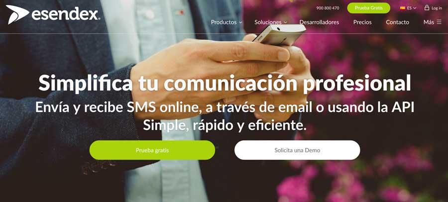 Servicio para enviar SMS desde internet