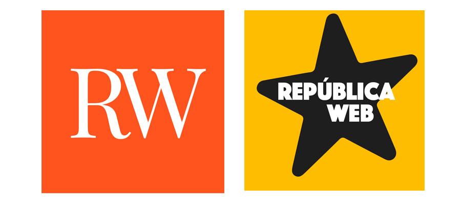 Logos del podcast República Web