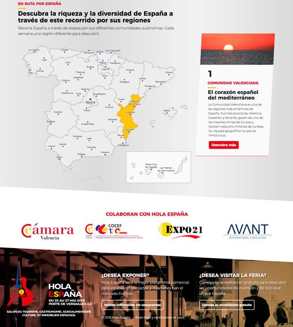 Proyecto diseño web Hola España